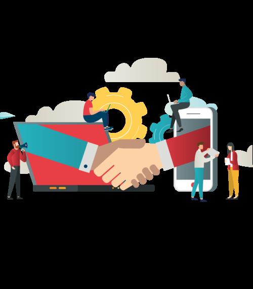 Technology partnerships to build a winning team