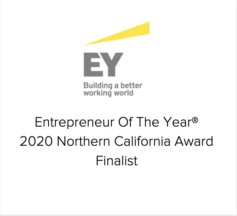 Entrepreneur Of The Year® 2020 Northern California Award Finalist